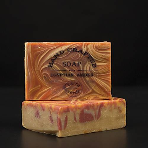 Egyptian Amber Handcrafted Soap