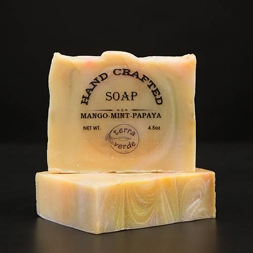 Mango-Mint-Papaya Handcrafted Soap
