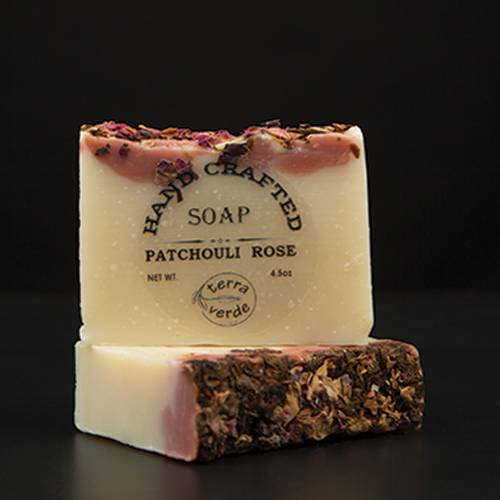 Patchouli Rose Handcrafted Soap