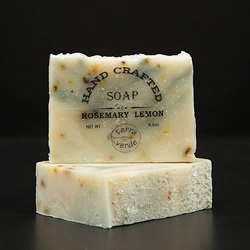 Rosemary Lemon Handcrafted Soap