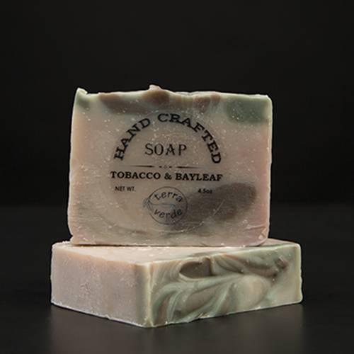 Tobacco & Bayleaf Handcrafted Soap