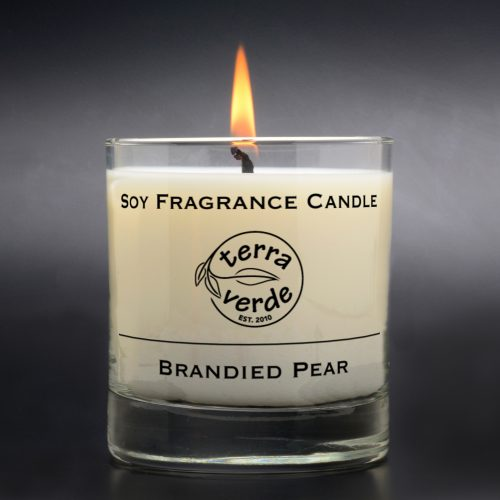 Brandied Pear 8oz Soy Candle