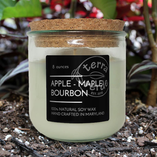 Apple - Maple - Bourbon 8oz Soy Candle