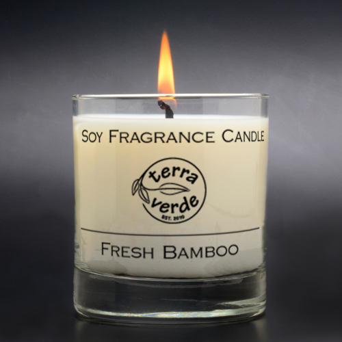 Fresh Bamboo 8oz Soy Candle