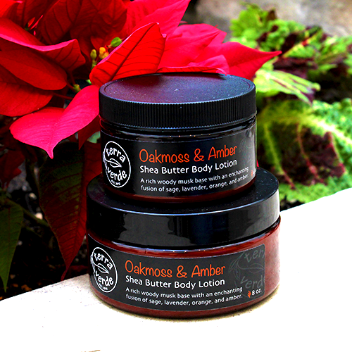 Oakmoss & Amber Shea Butter Body Lotion