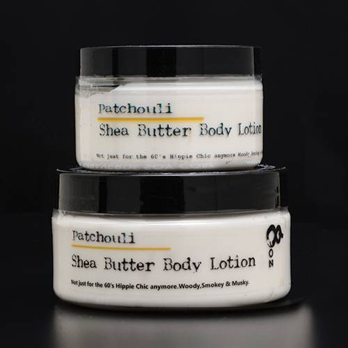 Patchouli Shea Butter Body Lotion