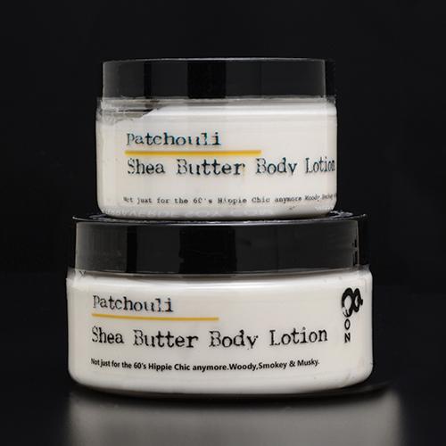 Patchouli Shea Butter Body Lotion