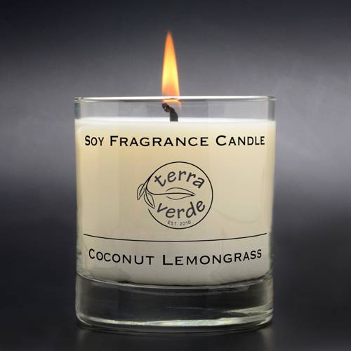Coconut Lemongrass 8oz Soy Candle
