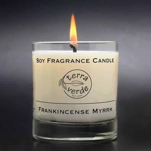 Frankincense & Myrrh 8oz Soy Candle