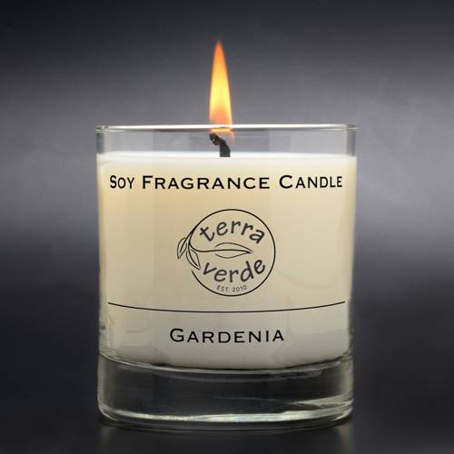 Gardenia 8oz Soy Candle