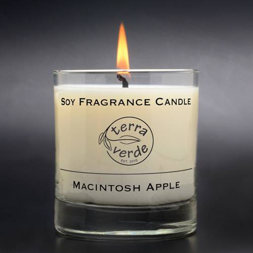 Macintosh Apple 8oz Soy Candle