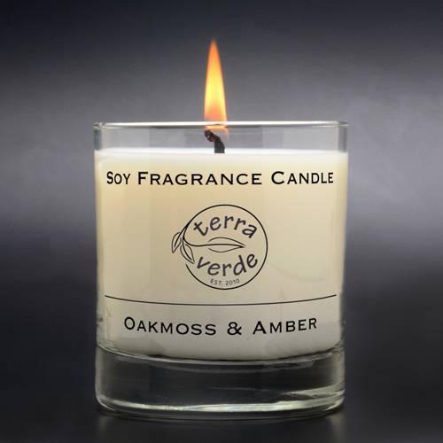 Oakmoss & Amber 8oz Soy Candle
