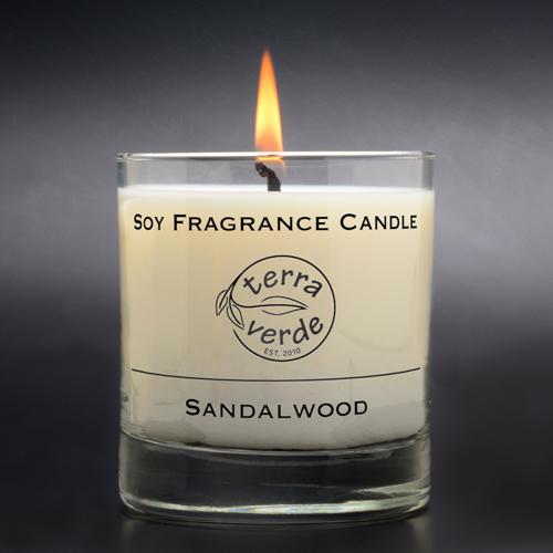 Sandalwood 8oz Soy Candle