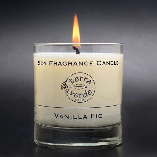 Vanilla Fig 8oz Soy Candle