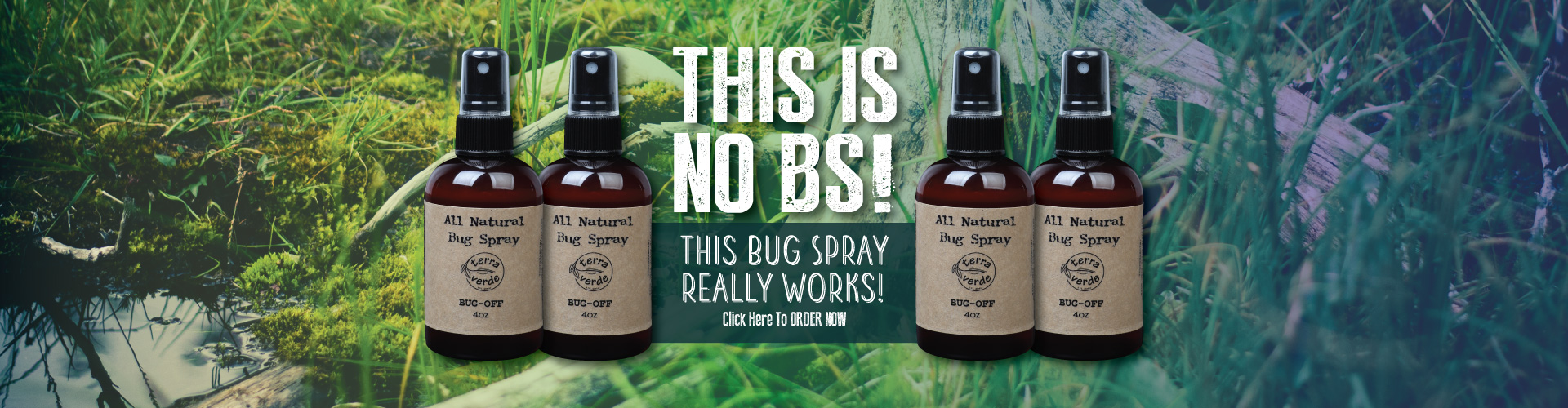 Bug Spray Banner