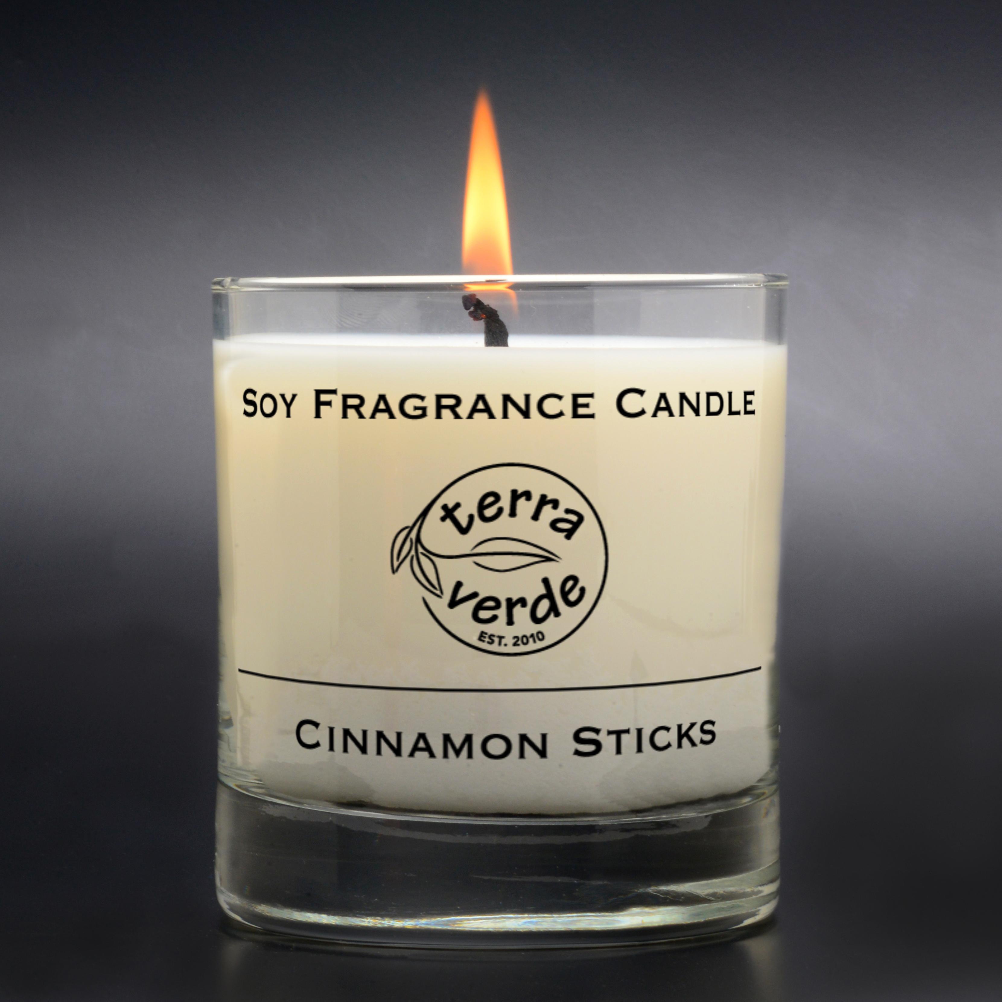 Cinnamon Sticks 8oz Soy Candle