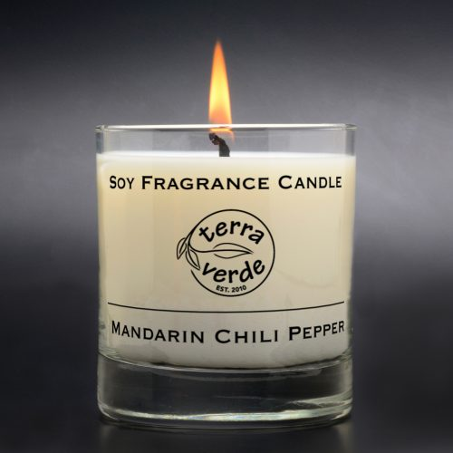 Mandarin Chili Pepper 8oz Soy Candle