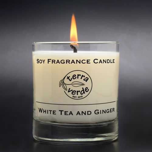 White Tea and Ginger 8oz Soy Candle
