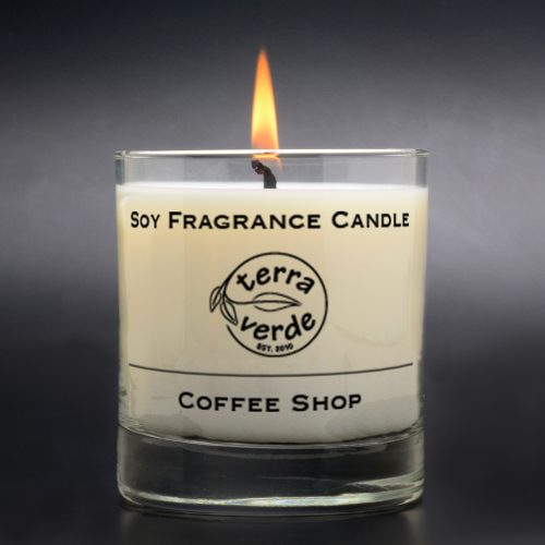 Coffee Shop 8oz Soy Candle