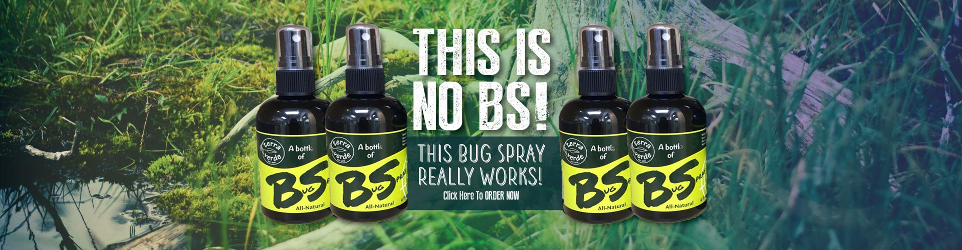 Terra Verde Bug Spray - Havre De Grace Maryland