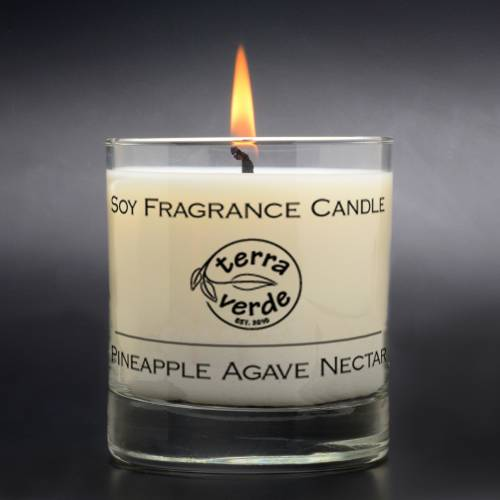 Pineapple Agave Nectar 8oz Soy Candle