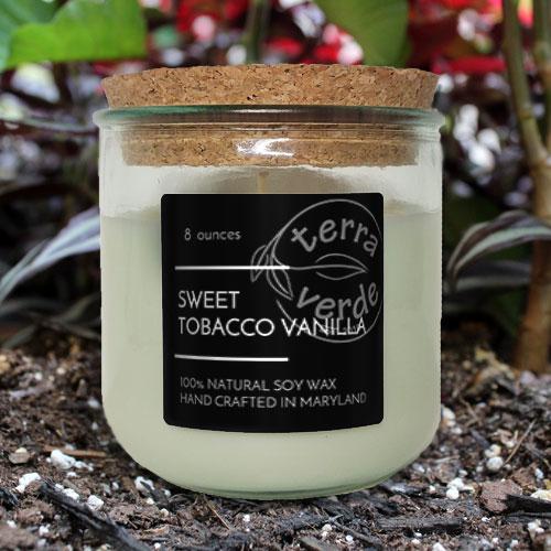Sweet Tobacco Vanilla - 8oz Soy Candle